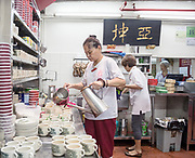 Singapore, Ya Kun Kaya Toast, traditional chinese cofeestall since 1944 in downtwon