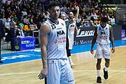 Delusione Burns Christian, RED OCTOBER MIA CANTU' vs EA7 EMPORIO ARMANI OLIMPIA MILANO, Lega Basket Serie A 2017/2018, 26 giornata, PalaDesio 15 aprile 2018 foto:BERTANI/Ciamillo