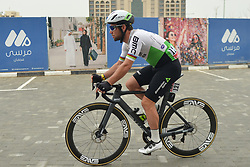 March 1, 2019 - Ajman, United Arab Emirates - Mark Cavendish of Dimension Data Team, seen at the start line of the sixth Rak Properties Stage of UAE Tour 2019, a 180km with a start from Ajman and finish in Jebel Jais. .On Friday, March 1, 2019, in Ajman, Ajman Emirate, United Arab Emirates. (Credit Image: © Artur Widak/NurPhoto via ZUMA Press)