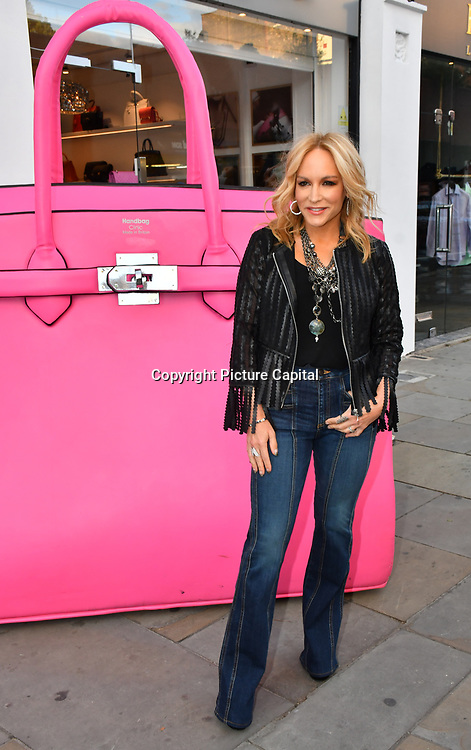 Stacey Jackson arrive at the Handbag Clinic - relaunch at 382 King's Road on 4 September 2019, London, UK.