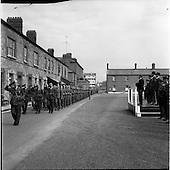 1963 - Taoiseach reviews the 39th Battalion before its deployment to the Congo
