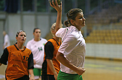 Biljana Culibrk of Olimpija at  handball game between women team RK Olimpija vs ZRK Brezice at 1st round of National Championship, on September 13, 2008, in Arena Tivoli, Ljubljana, Slovenija. Olimpija won 41:17. (Photo by Vid Ponikvar / Sportal Images)