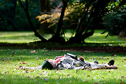 Fallen soldier of the Revolutionary war. Of the 11,000 men Washington led into battle, 152 were killed and 521 were wounded. (Bas Slabbers/for NewsWorks)