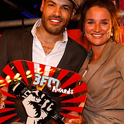 NLD/Amsterdam/20080426 - Uitreiking 3FM Awards 2008, Alain Clark en Lieke van Lexmond
