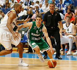 Jaka Lakovic of Slovenia at Eurobasket Men 2007 Classification Round 5th to 8th place between Germany and Slovenia in Madrid, Spain, on September 15, 2007...