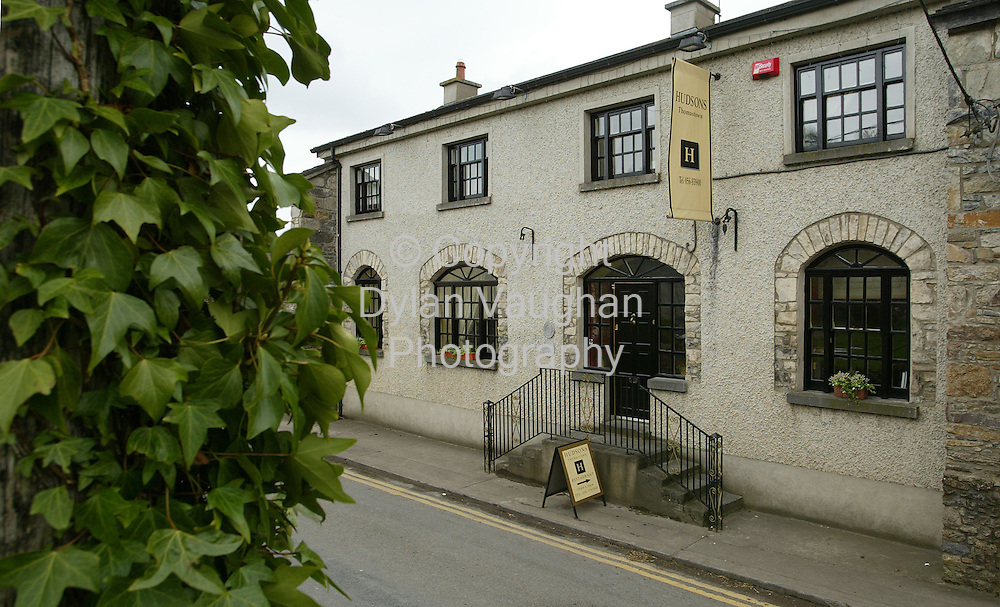 18/5/2004.Hudsons restaurant in Thomastown County Kilkenny..Picture Dylan Vaughan
