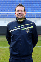 Freddy VANDEKERKHOVE - 04.10.2014 - Photo officielle Sochaux - Ligue 2 2014/2015<br /> Photo : Icon Sport
