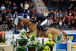 Mordasini Charlotte, SWE, Romaine du Theil<br /> Gothenburg Horse Show FEI World Cups 2017<br /> © Hippo Foto - Stefan Lafrentz<br /> 24/02/17