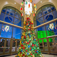 Christmas tree for holiday cheer at the Riverside Convention Center, Friday, November, 7, 2014. (Eric Reed/For Riverside Magazine)