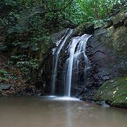 The 3 tiered Prang Waterfall in Kaeng Krachan National Park.