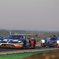 #66, Ford Chip Ganassi Team UK, Ford GT, driven by: Stefan Mucke, Olivier Pla, Billy Johnson, 24 Heures Du Mans 85th Edition, 18/06/2017,