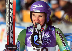 First placed after second run Tina Maze of Slovenia at Maribor women giant slalom race of Audi FIS Ski World Cup 2008-09, in Maribor, Slovenia, on January 10, 2009. (Photo by Vid Ponikvar / Sportida)