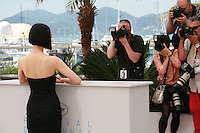 Actress Eri Fukatsu with photographers at the Journey To The Shore film photo call at the 68th Cannes Film Festival Sunday May 17th 2015, Cannes, France.