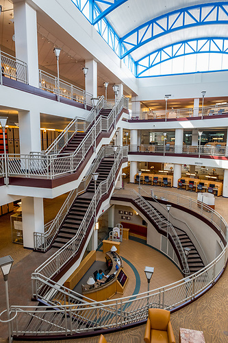 2018 212 41 Park Library Interiors New Colors Sj.JPG | Central Michigan  University Photo Store