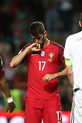 August 31, 2017 - Porto, Porto, Portugal - Portugal's forward Nelson Oliveira celebrates after scoring a goal during the FIFA World Cup Russia 2018 qualifier match between Portugal and Faroe Islands at Bessa Sec XXI Stadium on August 31, 2017 in Porto, Portugal. (Credit Image: © Dpi/NurPhoto via ZUMA Press)