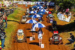 November 12, 2017 - Brazil - ARAÂ«OIABA DA SERRA, SP - 12.11.2017: KARTCROSS SOLIDÂ¡RIO - The 9th edition of Kartcross Solid·rio took place this Sunday in AraÁoiaba da Serra, 15 km from Sorocaba, in the interior of SP. The event brought together several attractions, including live music, freestyle motorcycle show and the traditional kart race on earth. All income from this event will be reverted to the entities supported by Christmas without Hunger. (Credit Image: © Fotoarena via ZUMA Press)