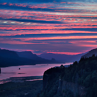 Columbia River Crown Point Overlook 6-41 AM