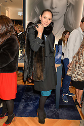 AMANDA STRANG at a party to celebrate the launch of the APM Monaco Flagship Store at 3 South Molton Street, London on 11th February 2016