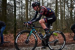 Ella Harris (NZL) across the cobbles at Ronde van Drenthe 2019, a 165.7 km road race from Zuidwolde to Hoogeveen, Netherlands on March 17, 2019. Photo by Sean Robinson/velofocus.com