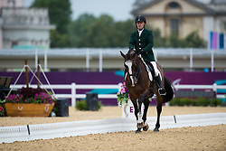 James Dwyer (IRL) - Orlando<br /> Individual Championship Test - Grade Ia<br /> London 2012 Paralympic Games<br /> © Hippo Foto - Jon Stroud