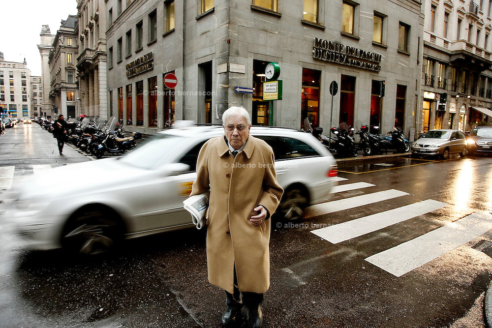 """Milano, Mario Cerv, vicedirettore de """"il Giornale"""""""