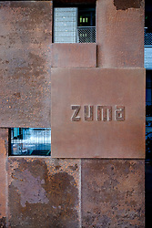 Zuma Japanese restaurant at DIFC Dubai International Financial Center in Dubai United Arab Emirates