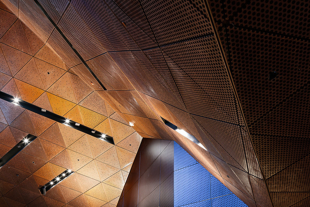 Aalto University metro station designed by ALA architects in construction in Espoo, Finland
