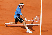 Roland Garros. Paris, France. June 11th 2006..Men's final. Roger Federer against Rafael Nadal. .Nadal won his 60th game in a row on clay 1-6, 6-1, 6-4, 7-6..