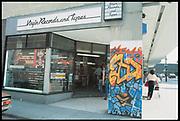 Virgin record shop. Broadmead 3D, Bristol, 1984