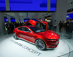 Ford Evos Concept at Frankfurt Motor Show or IAA 2011 Germany