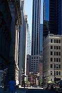New York. architecture in  lower manhattan new york /   achitecture du sud de Manhattan