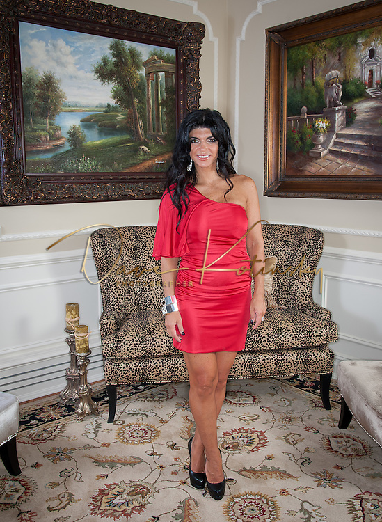 TOWACO, NJ - SEPTEMBER 21:  Teresa Giudice poses for a portrait session at a private residence on September 21, 2011 in Towaco, New Jersey.  (Photo by Dave Kotinsky/Getty Images)