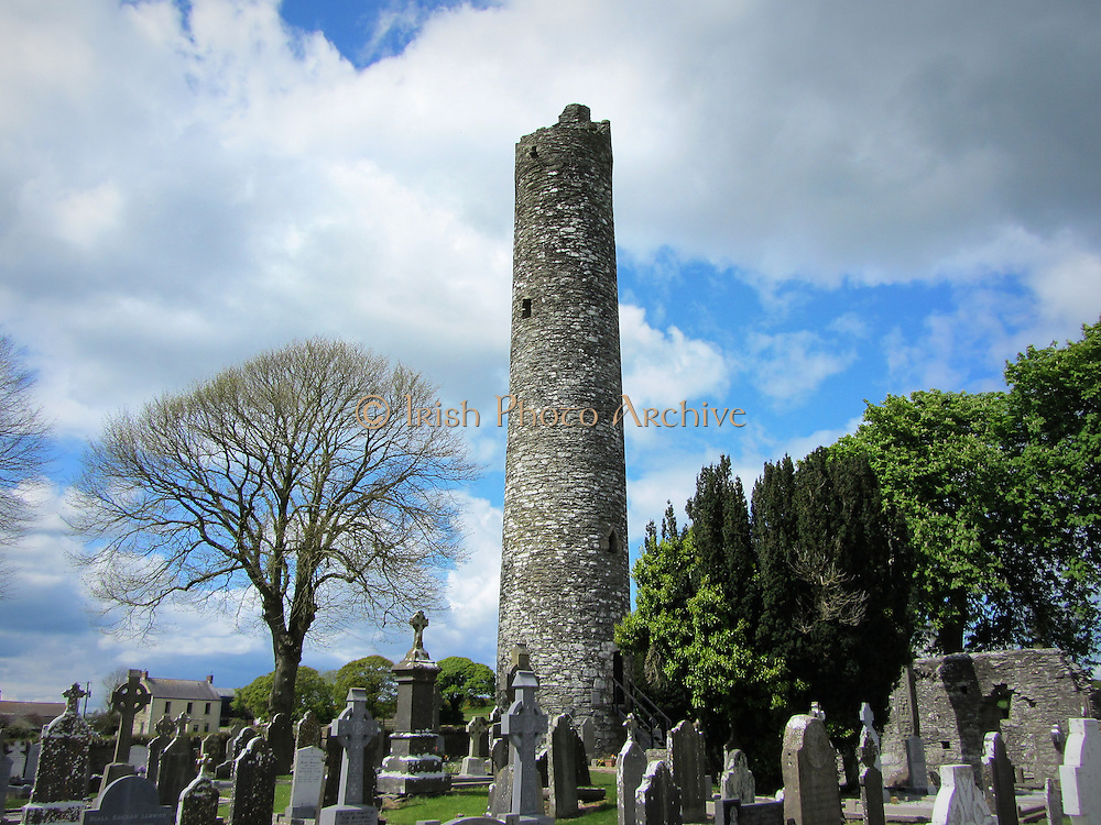 The Round Tower, Monasterboice, Louth, c.10th century a.d,