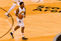 January 11, 2019 - Toronto, Ontario, Canada - Kyle Lowry #7 of the Toronto Raptors with the ball during the Toronto Raptors vs Brooklyn Nets NBA regular season game at Scotiabank Arena on January 11, 2019, in Toronto, Canada (Toronto Raptors win 122-105) (Credit Image: © Anatoliy Cherkasov/NurPhoto via ZUMA Press)