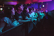 Fans during Galactic's performance at the Pageant in St. Louis on March 14, 2012.