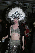 Johan Christian Baron von Donner, Andy and Patti Wong's Chinese New Year of the Pig party. Madame Tussauds. ( Dress Burlesque, Debauched or Hollywood Black Tie. ) London. 27 January 2007.  -DO NOT ARCHIVE-© Copyright Photograph by Dafydd Jones. 248 Clapham Rd. London SW9 0PZ. Tel 0207 820 0771. www.dafjones.com.