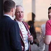 The Harvard Yale 150th Regatta banquet is held at Leamy Hall at the United States Coast Guard Academy on June 6, 2015 in New London, Connecticut. (Photo by Elan Kawesch/Harvard University)