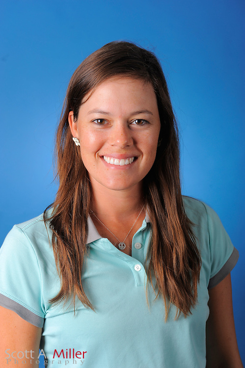 Ginny Brown during a portrait session prior to the second stage of LPGA Qualifying School at the Plantation Golf and Country Club on Sept. 24, 2011 in Venice, FL...©2011 Scott A. Miller