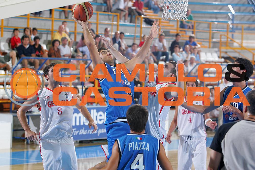DESCRIZIONE : Gorizia U20 European Championship Men Preliminary Round Georgia Italy <br /> GIOCATORE : Aradori <br /> SQUADRA : Italy <br /> EVENTO : Gorizia U20 European Championship Men Preliminary Round Georgia Italy Campionato Europeo Maschile Under 20 Preliminari Georgia Italia <br /> GARA : Georgia Italy <br /> DATA : 07/07/2007 <br /> CATEGORIA : Tiro <br /> SPORT : Pallacanestro <br /> AUTORE : Agenzia Ciamillo-Castoria/S.Silvestri <br /> Galleria : Europeo Under 20 <br /> Fotonotizia : Gorizia U20 European Championship Men Preliminary Round Georgia Italy <br /> Predefinita :