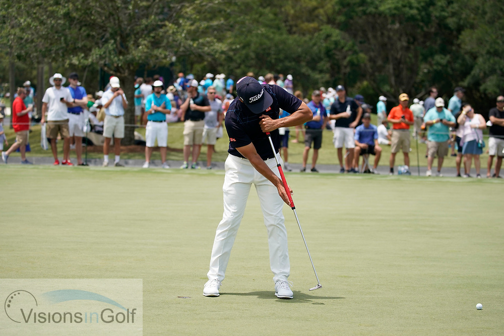 Adam Scott<br /> Putting sequences face on, down the line and to camera<br /> 2018