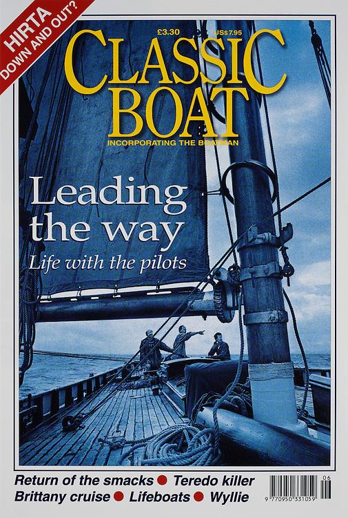 Aboard the 'OLGA', a 1910 pilot cutter in the Bristol Channel.<br /> <br /> Classic Boat Magazine.