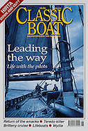 Aboard the 'OLGA', a 1910 pilot cutter in the Bristol Channel.<br />