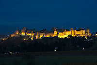 France, Aude (11), Carcassonne, cite medievale classee Patrimoine Mondial de l'UNESCO // France, Aude department, Medieval city of Carcassonne