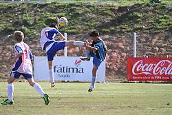 Lance da partida entre as equipes do Estrela e Murialdo, válida pela Copa Coca-Cola, no campo do Complexo Esportivo Zona Norte, em Caxias do Sul. FOTO: Lucas Uebel/Preview.com