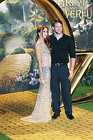 Una Healy; Ben Foden, Oz The Great and Powerful European Film Premiere, Empire Cinema Leicester Square, London UK, 28 February 2013, (Photo by Richard Goldschmidt)