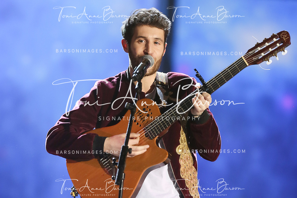 """PARIS, FRANCE - FEBRUARY 10:  Broken Back performs during the """"32nd Victoires de la Musique 2017"""" at Le Zenith on February 10, 2017 in Paris, France.  (Photo by Tony Barson/FilmMagic)"""