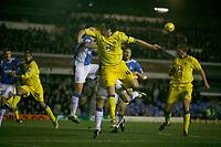 Leeds attaack through Jonathan Douglas (centre)