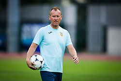 Janez Strajnar during practice session before football match between NK Domzale and FC Lusitanos Andorra in second leg of UEFA Europa league qualifications on July 6, 2016 in Andorra la Vella, Andorra. Photo by Ziga Zupan / Sportida