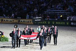 Openingceremony: Team Azerbaijan<br /> World Equestrian Games Lexington - Kentucky 2010<br /> © Dirk Caremans