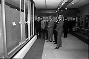 04/06/1964<br /> 06/04/1964<br /> 04 June 1964<br /> Anodising Ltd. Reception for opening of the new factory at Finglas, Dublin. Anodising the electrochemical means of building an aluminium oxide film on aluminium to render the surface harder and abrasion resistant, to increase corrosion resistance, allow the permanent colouring of aluminium and to preserve the appearance.  At the reception hosted by the German-Irish firm were: (l-r) Mr A.G. Pearson, Director; Mr. H. Robson, Architect; Mr B. Meehan, Architect; Mr Werner Wetzki, Managing Director; Mr J. Sedgwick, Director and secretary and Mr I. Pearson, Director.
